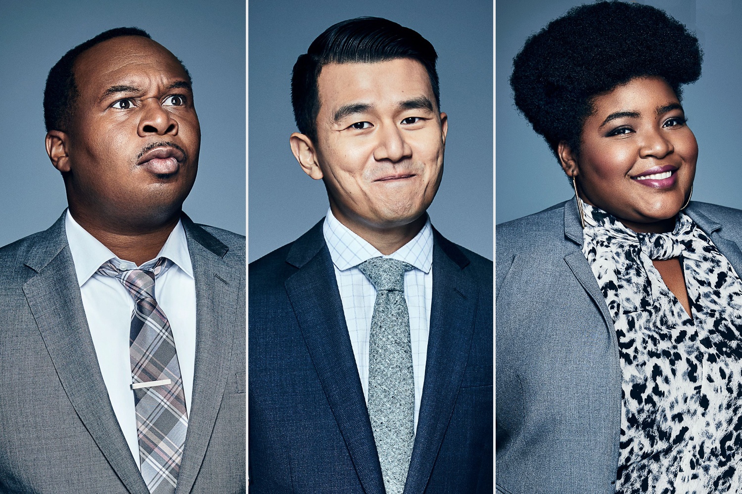 Roy Wood Jr.; Ronny Chieng; Dulcé Sloan