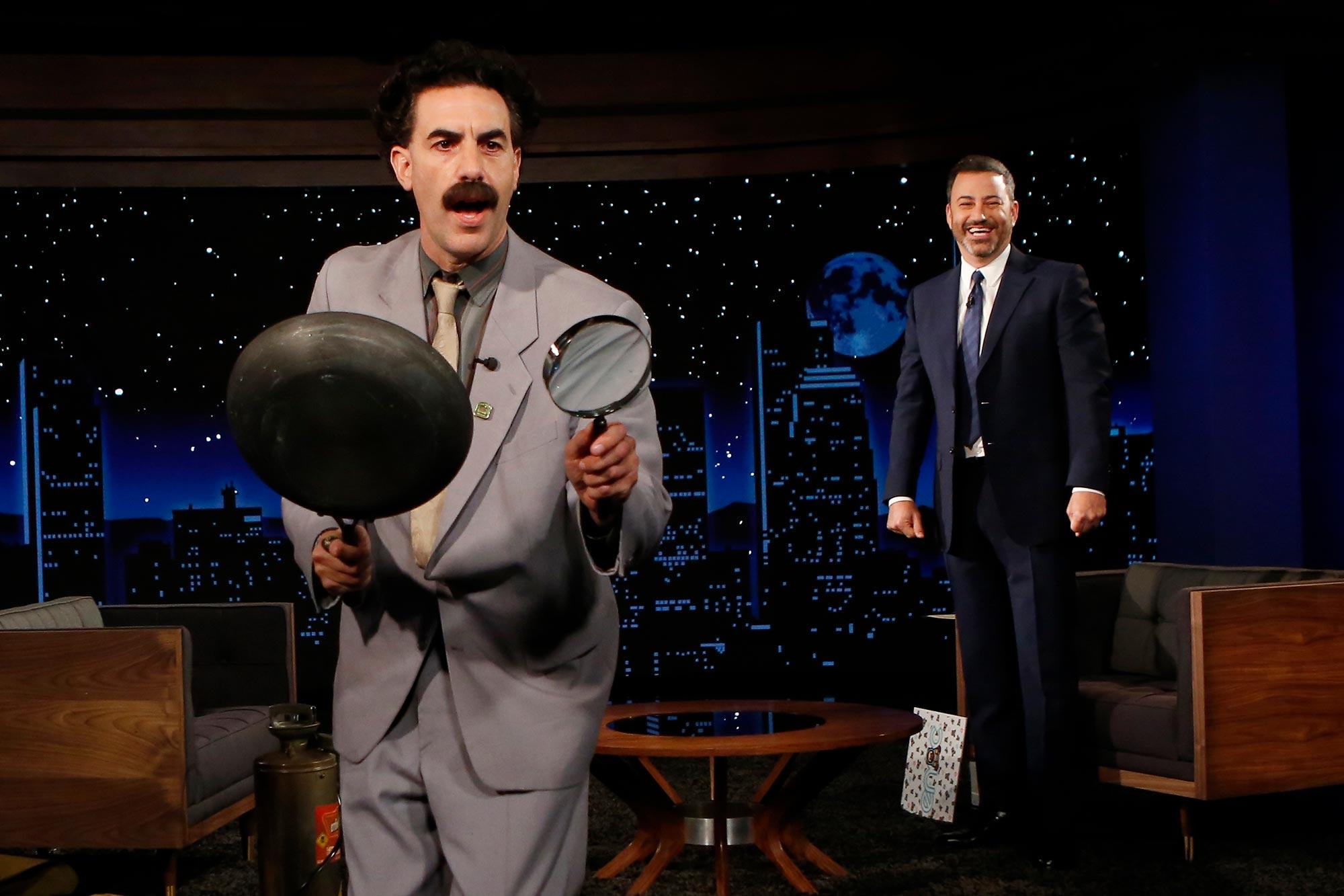 Borat on Jimmy Kimmel
