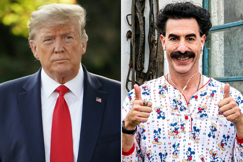 Donald Trump, Borat