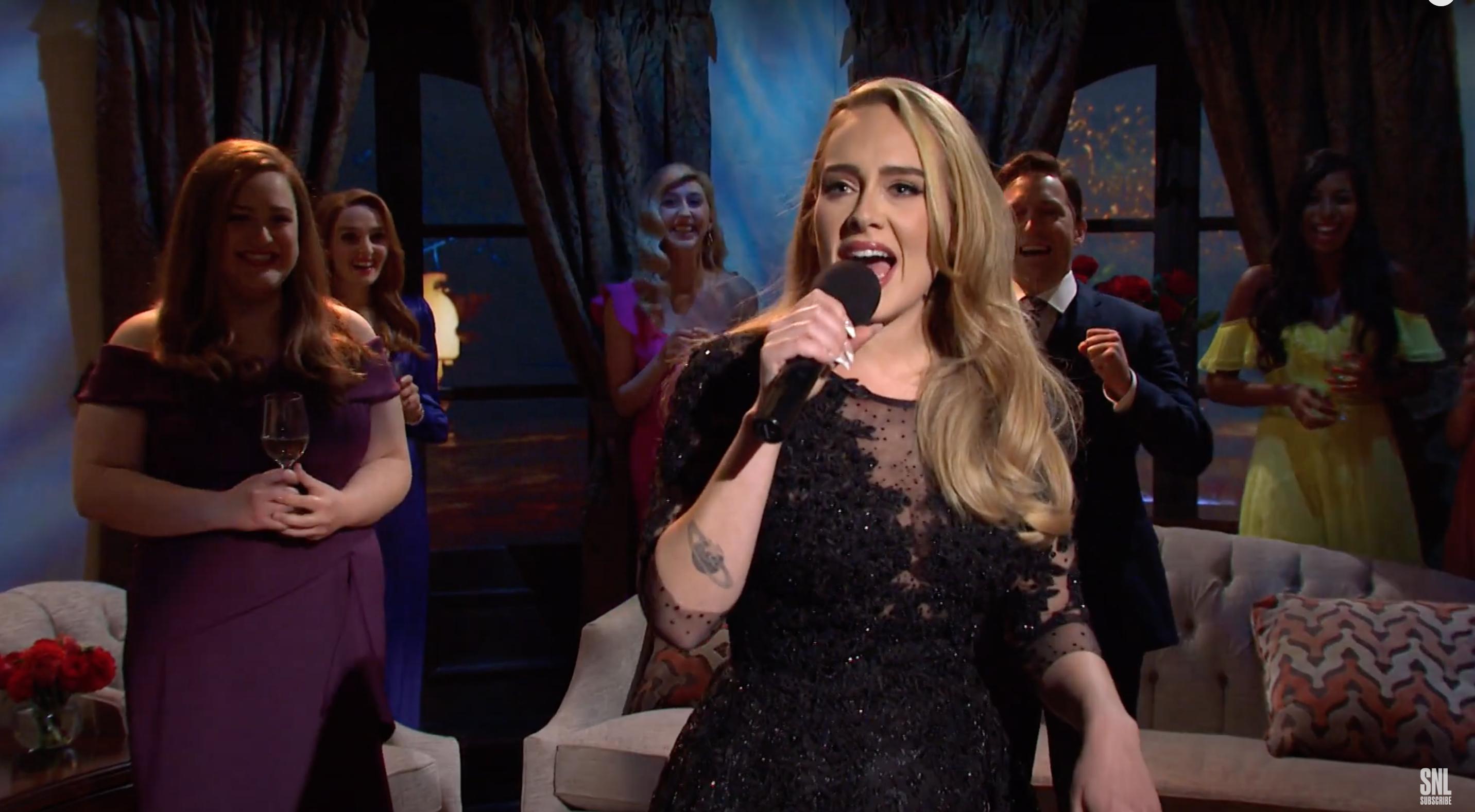 Adele hosting SNL