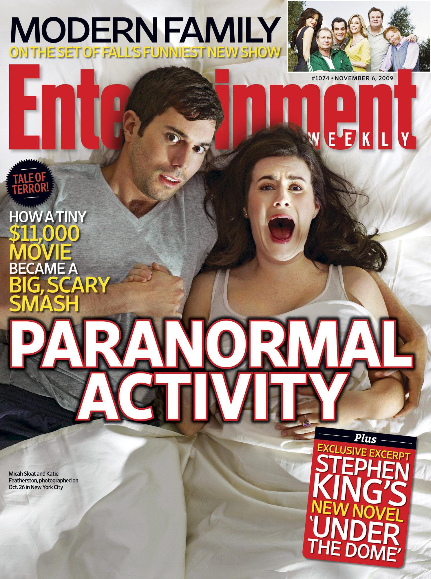 EW Horror covers