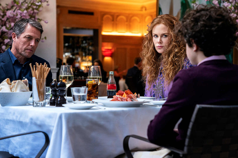 Hugh Grant, Nicole Kidman, Noah Jupe The Undoing