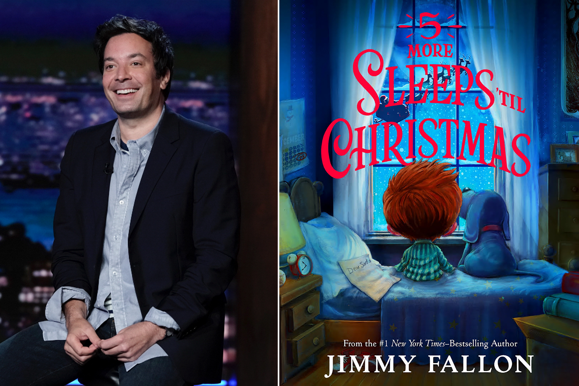 Jimmy Fallon, 5 More Sleeps 'til Christmas