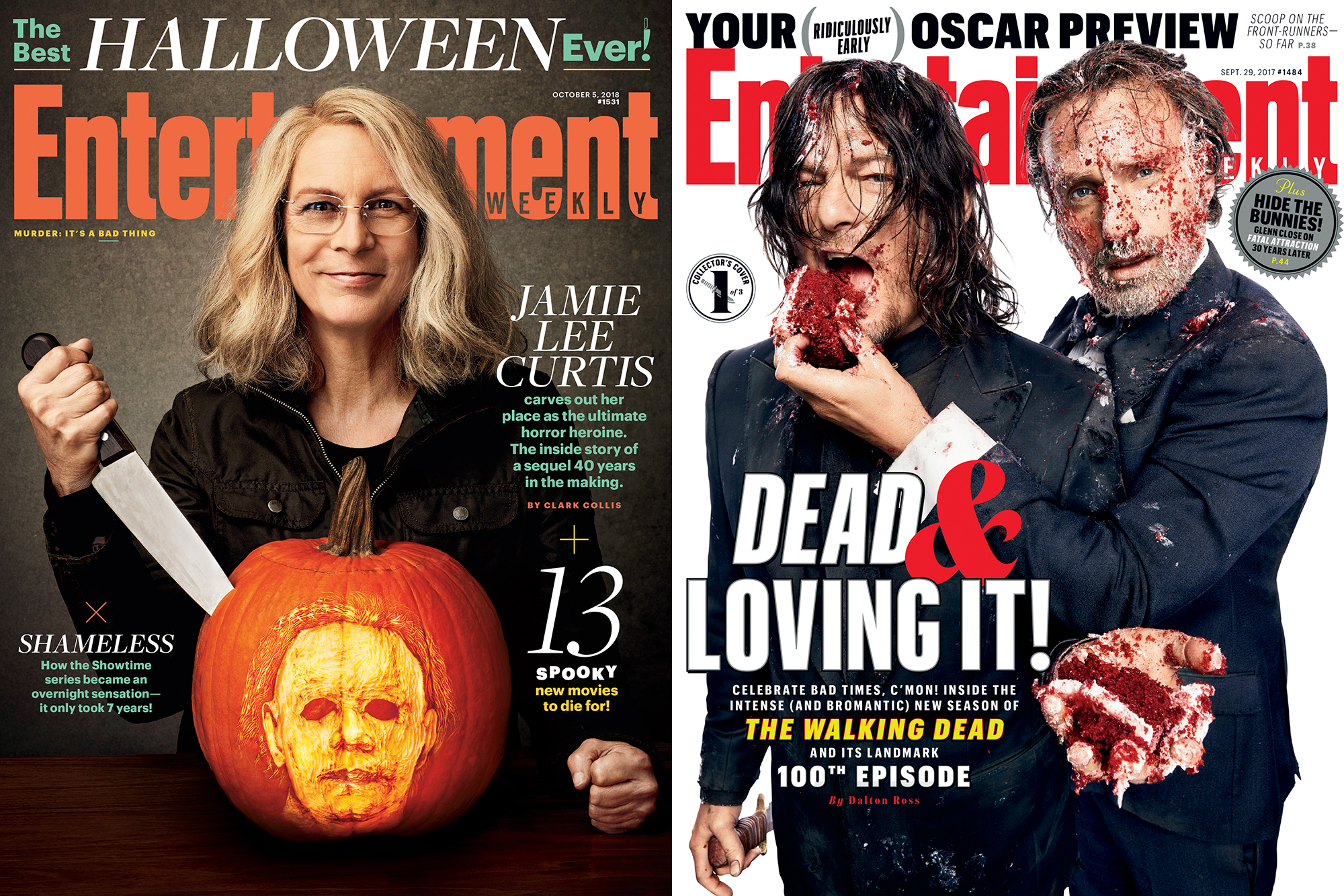EW Horror Covers