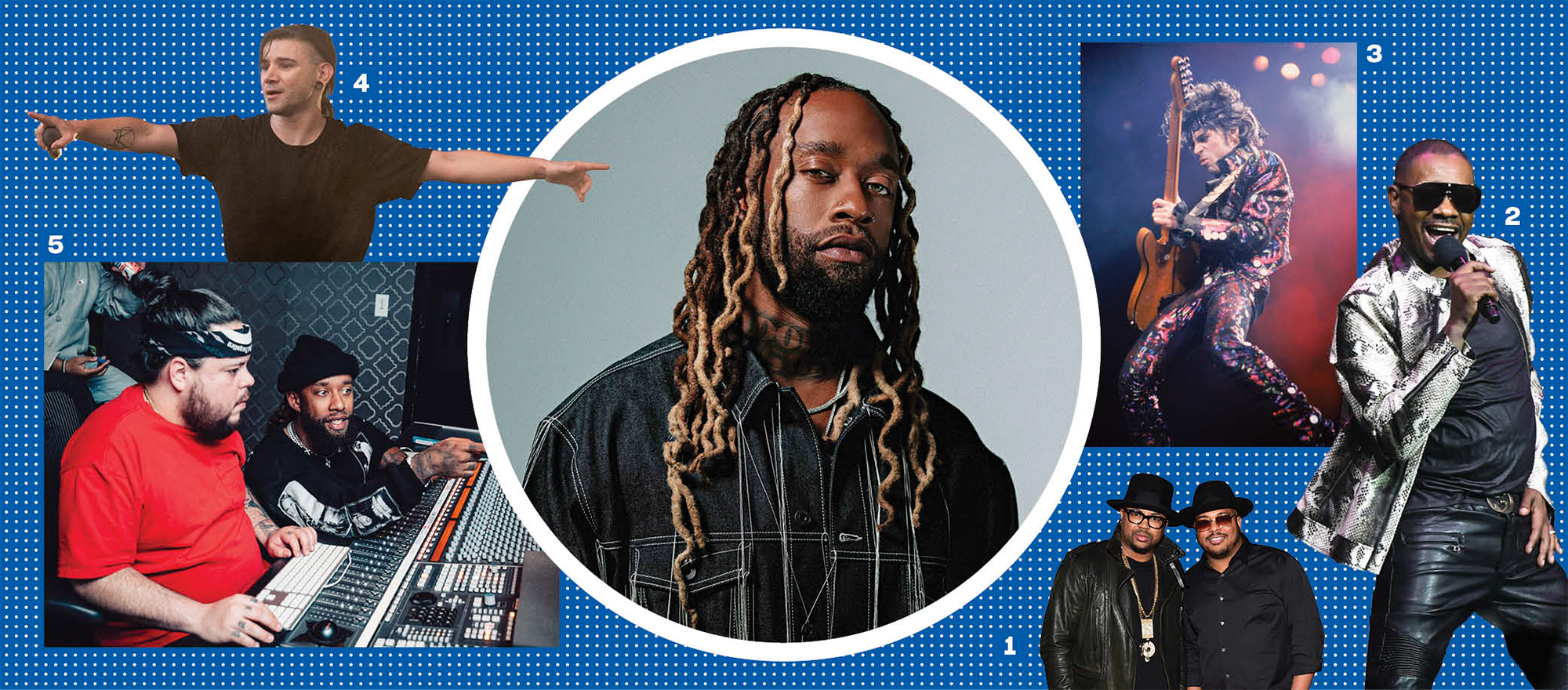 Ty Dolla Sign Mood Board