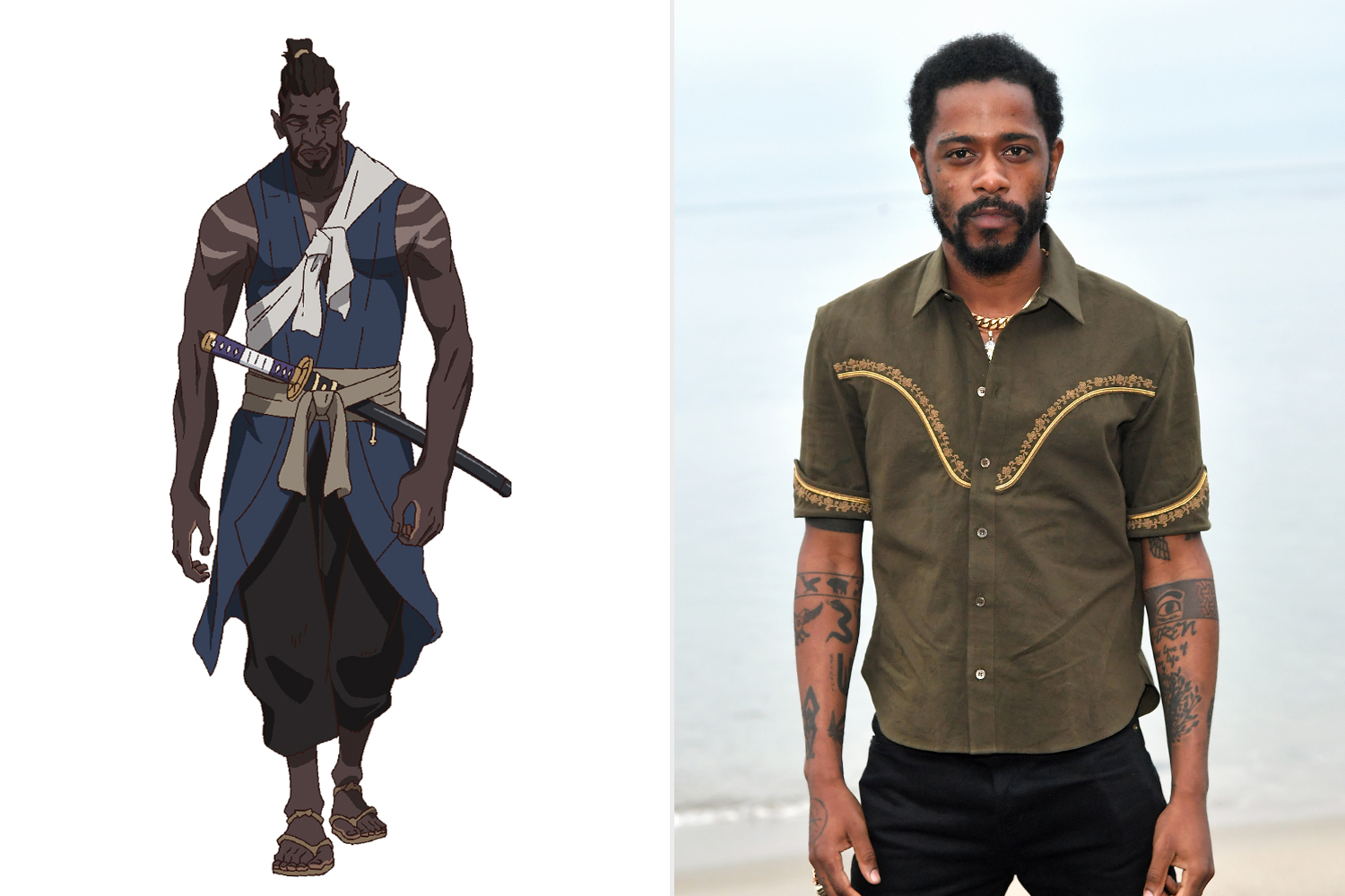 Yasuke; Lakeith Stanfield