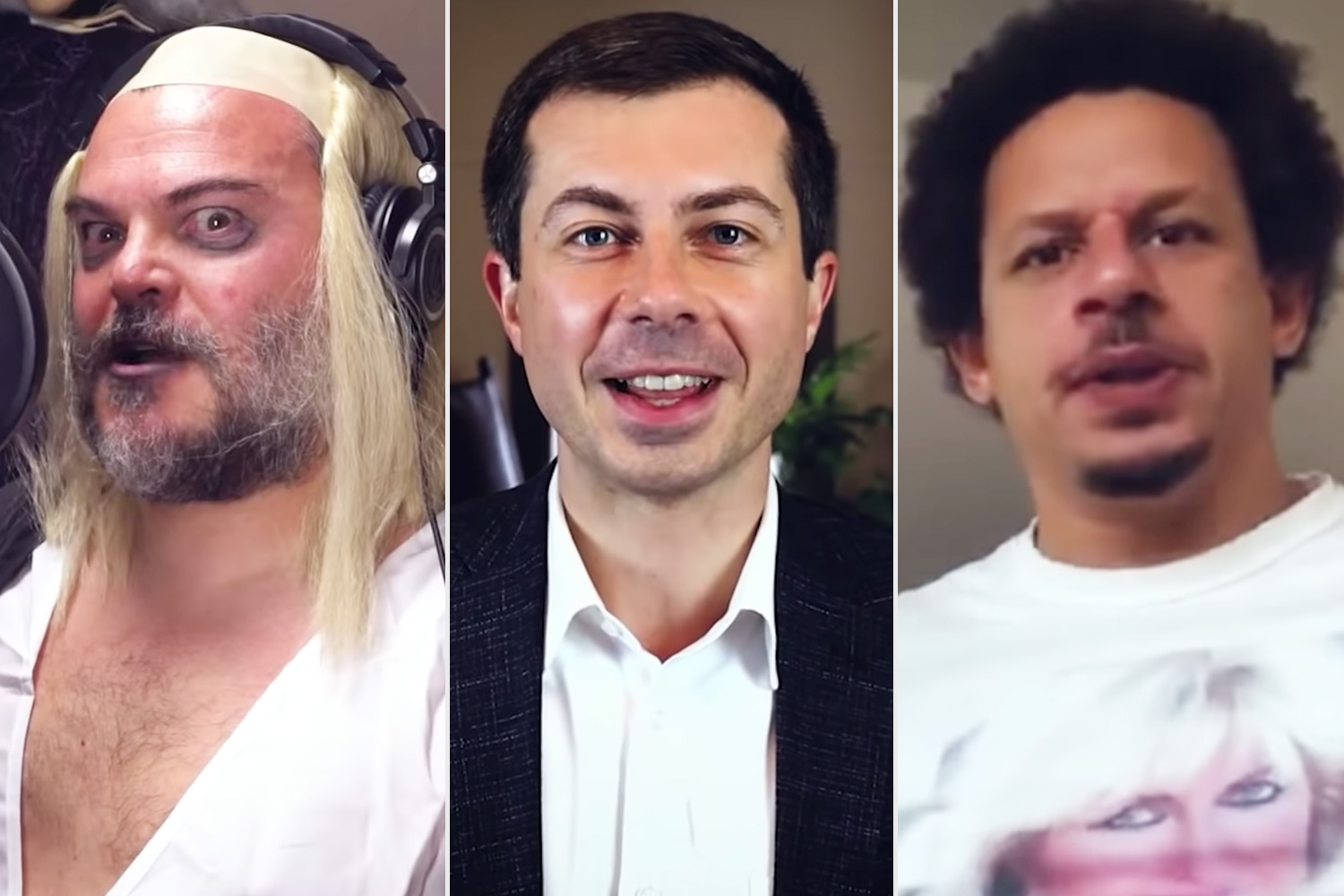 Tenacious D summons Pete Buttigieg, Eric Andre, and more for star-studded election-themed Rocky Horror cover