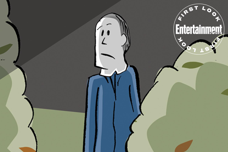 David Gordon Green's illustrated adaptation of John Carpenter's 'Halloween