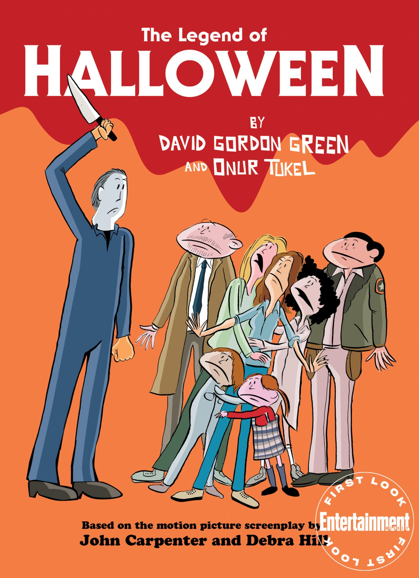 David Gordon Green's illustrated adaptation of John Carpenter's 'Halloween