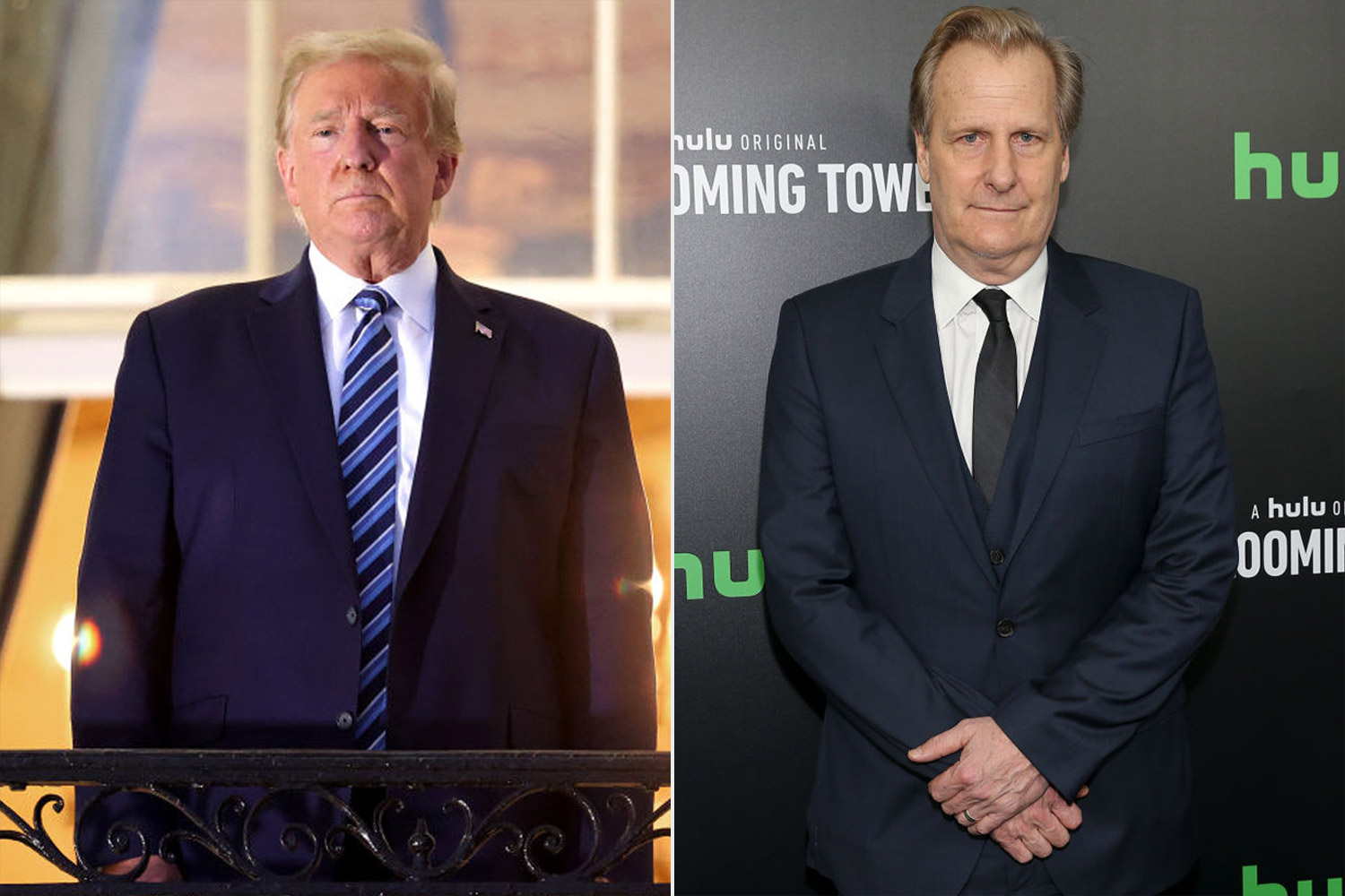 donald trump, Jeff Daniels