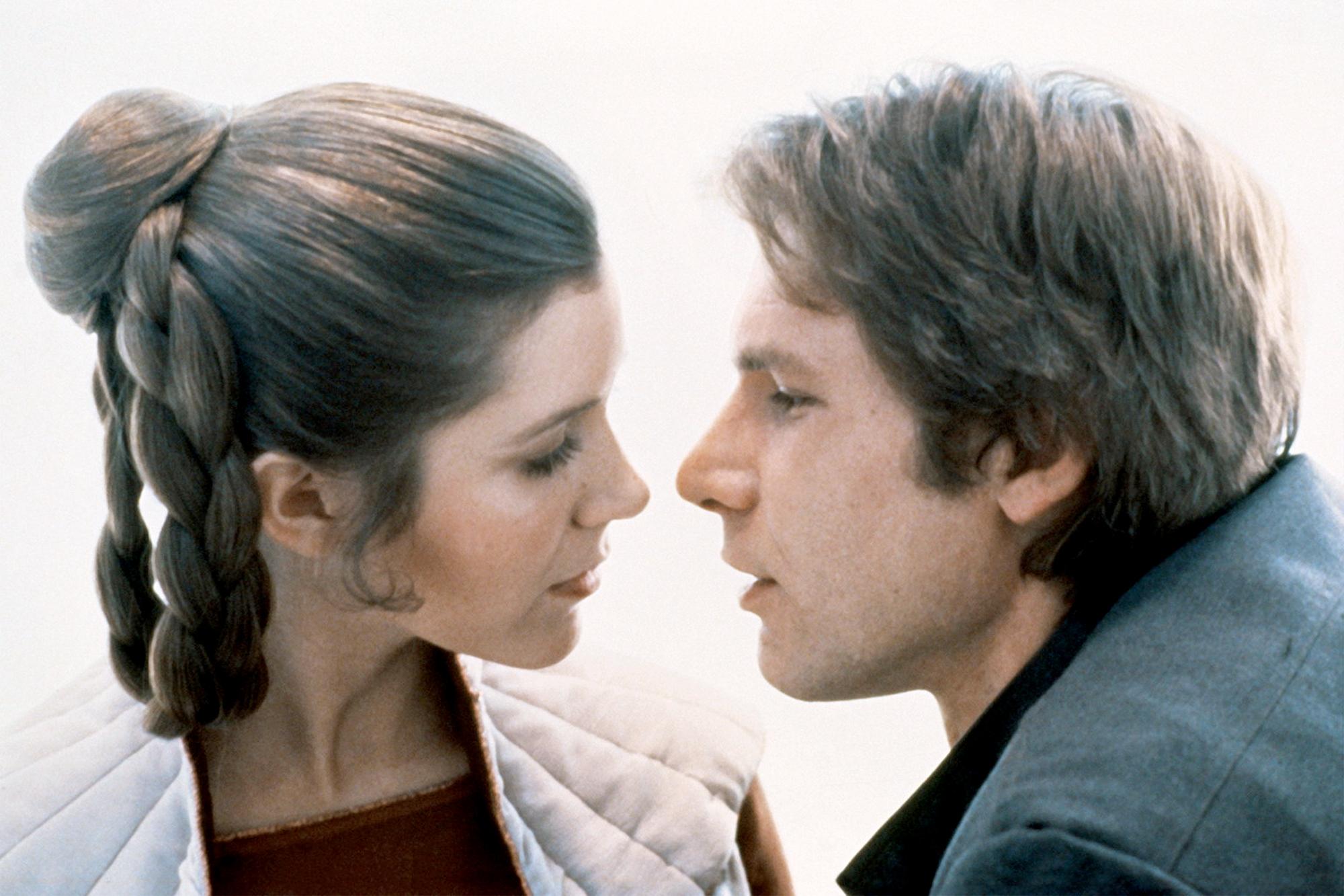 Han Solo and Princess Leia