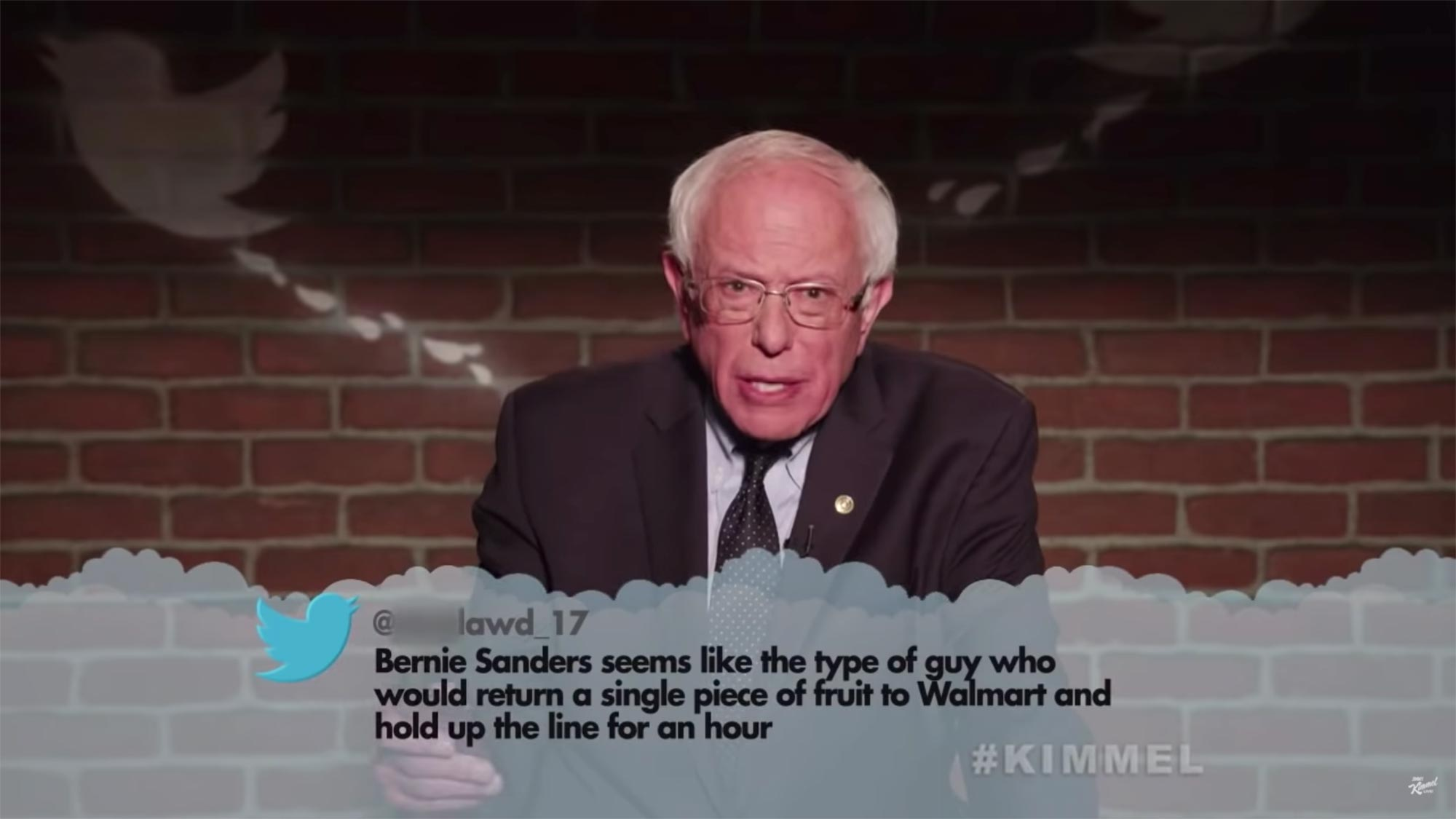 Mean Tweets – Political Edition- Bernie Sanders
