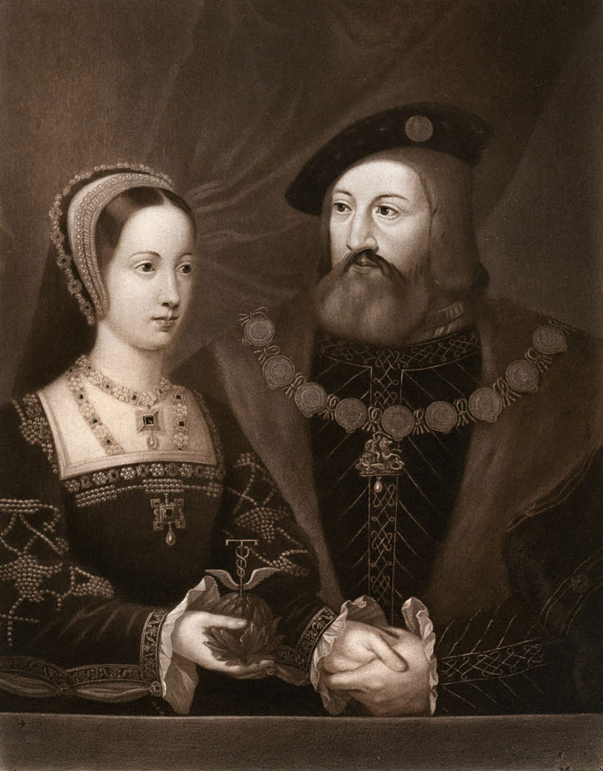 Mary Tudor, Queen of France and Charles Brandon