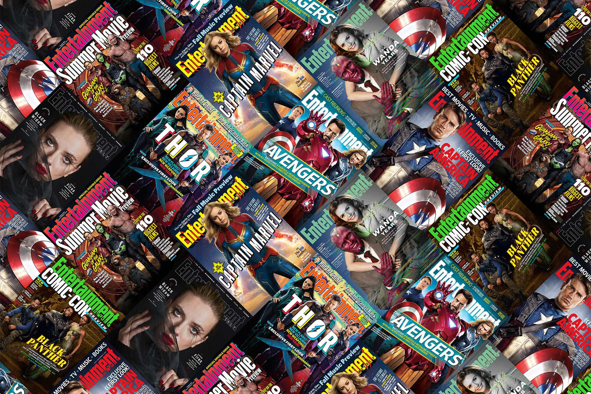 Marvel EW Covers