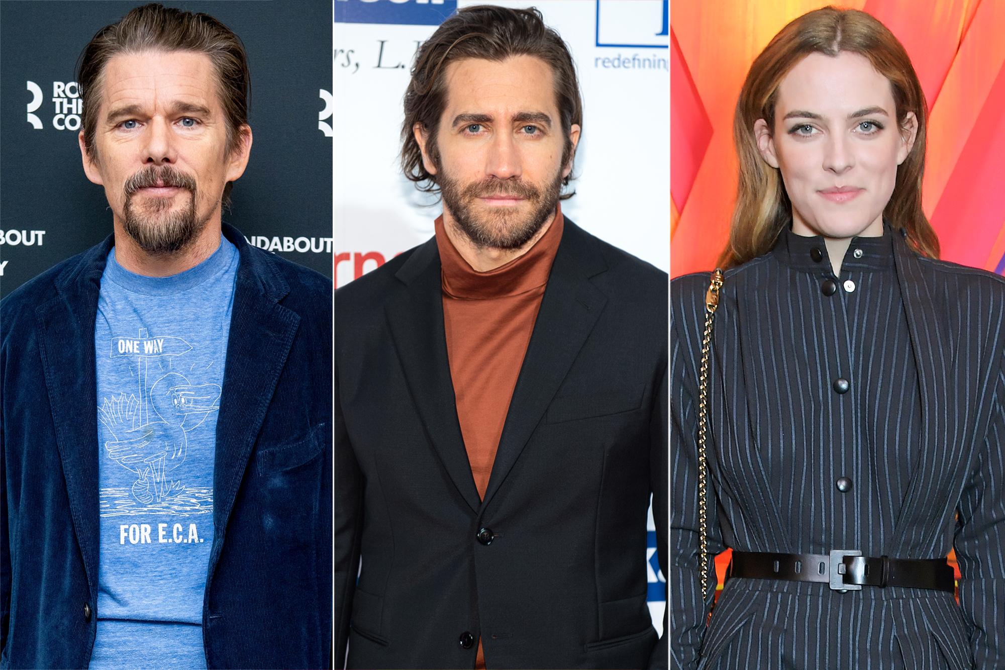Ethan Hawk, Jake Gyllenhaal, Riley Keough