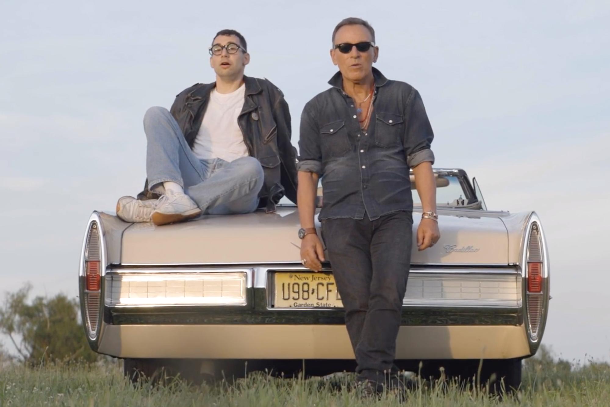 Jack Antonoff and Bruce Springsteen