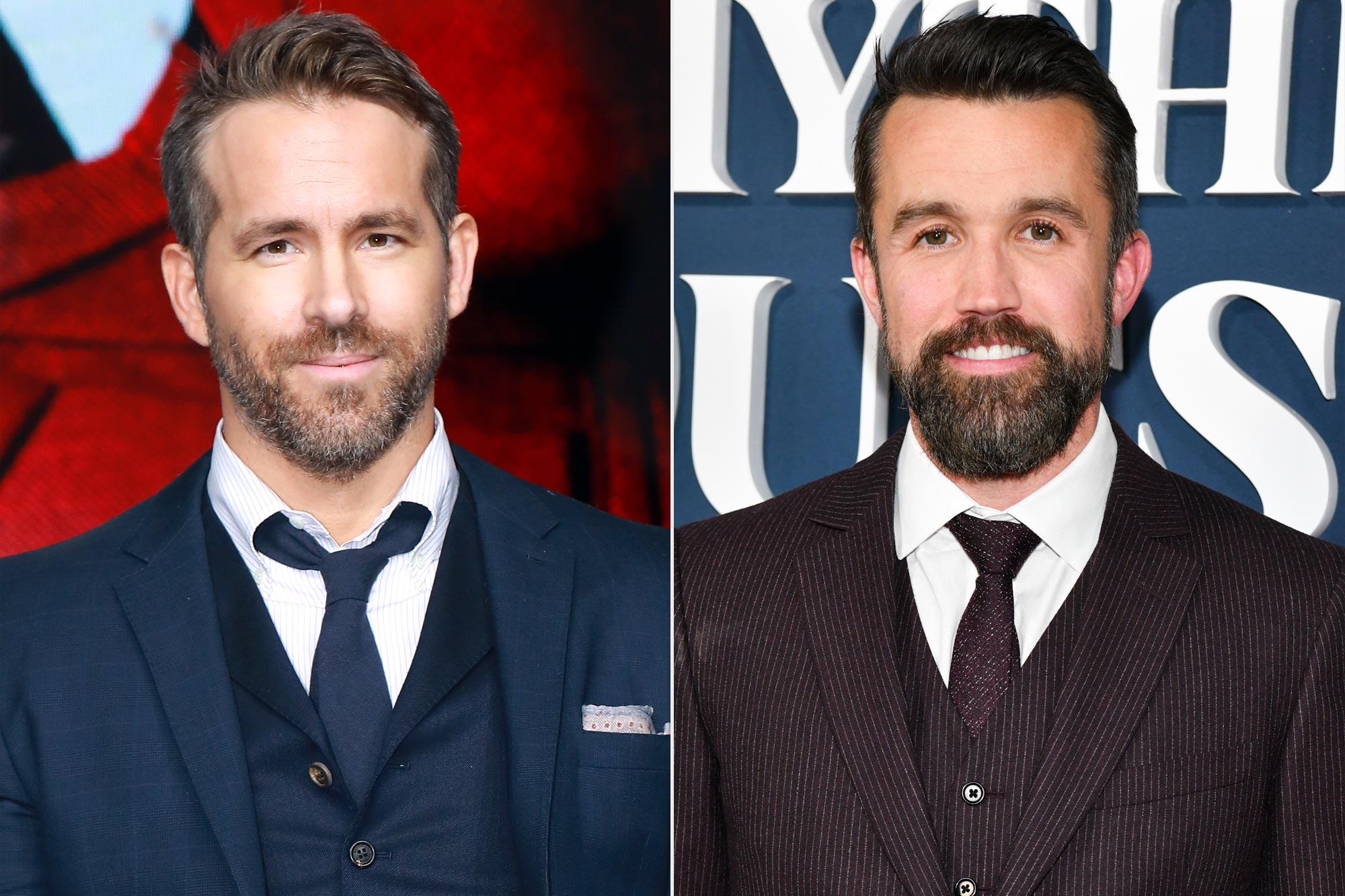 Ryan Reynolds and Rob McElhenney buy Welsh football club Wrexham AFC