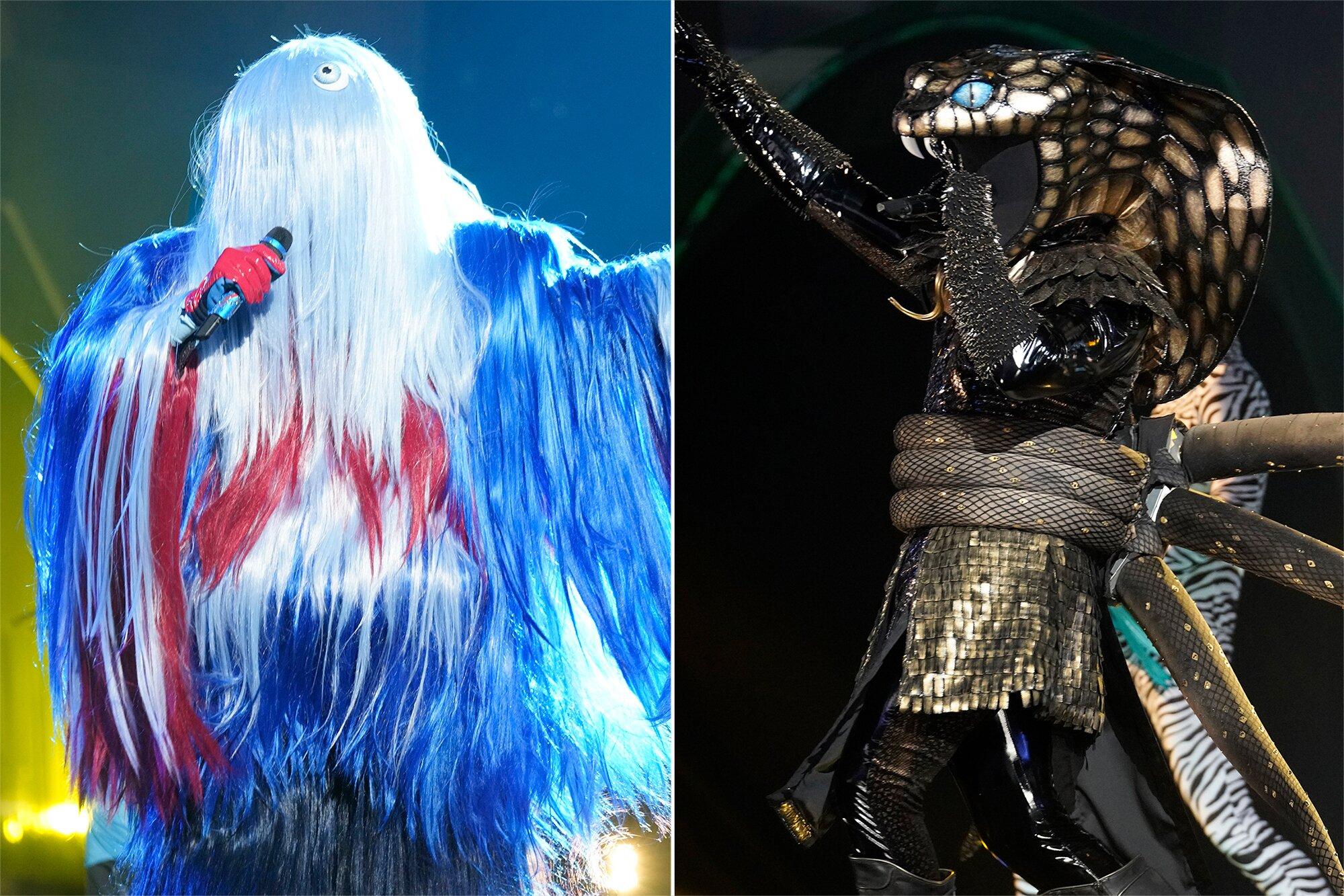 Masked Singer recap: Whatchamacallit and Serpent revealed | EW.com