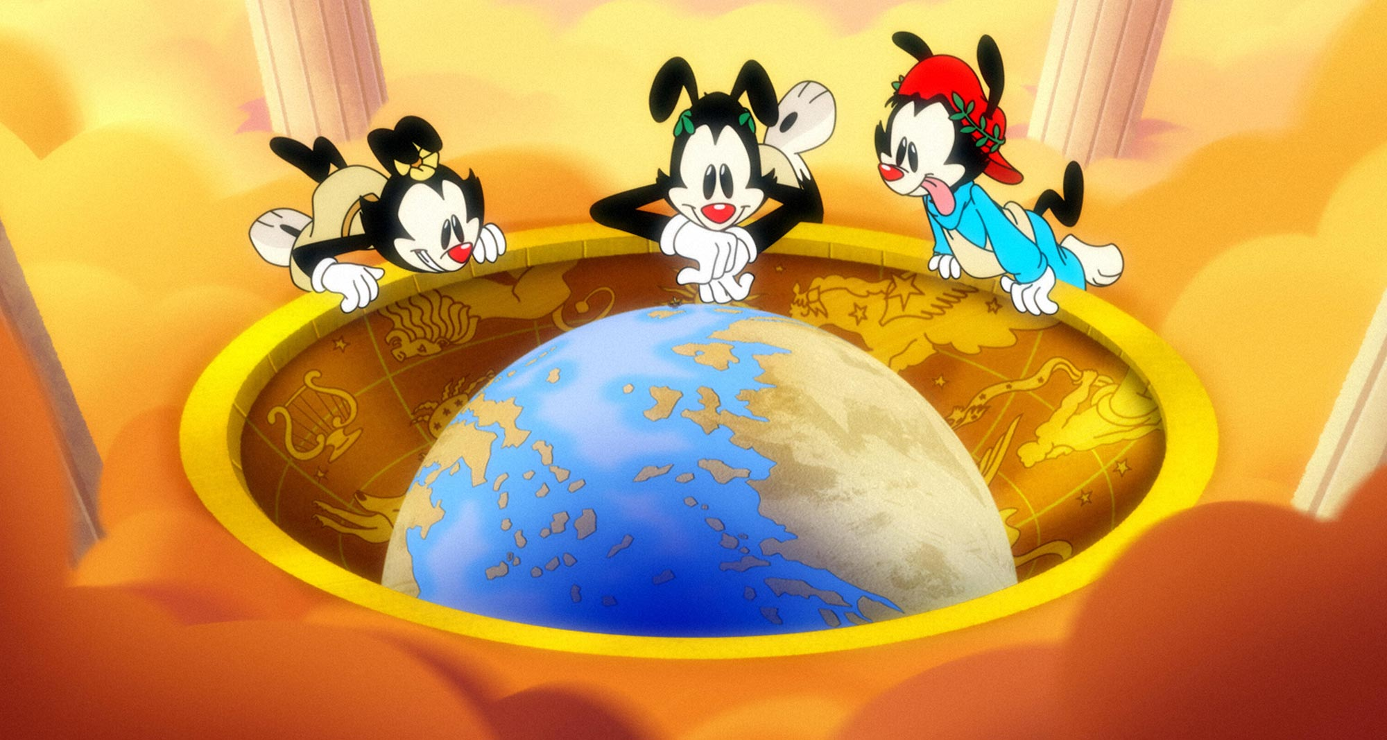 Animaniacs Reboot takes us through time