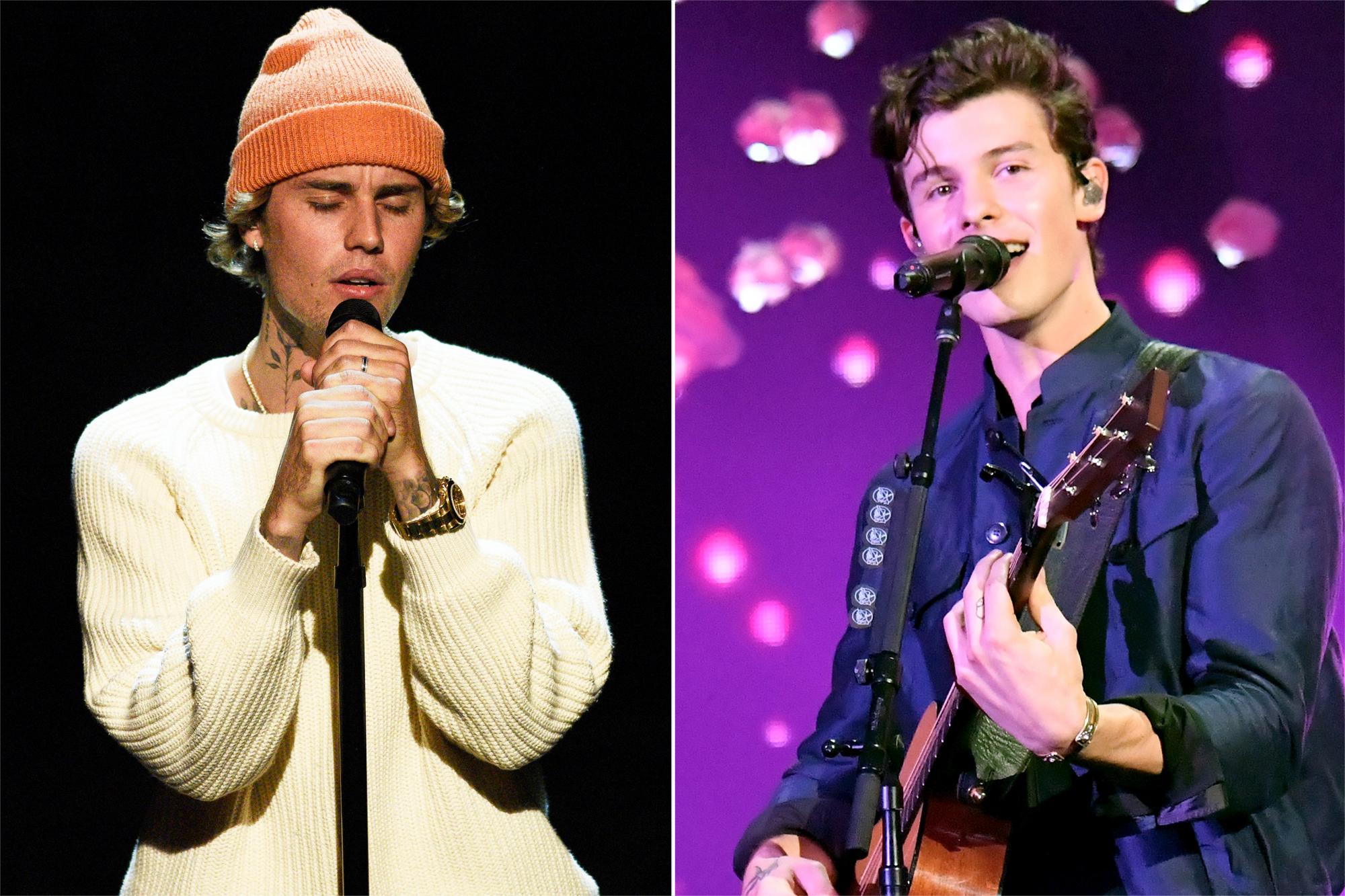 Justin Bieber, Shawn Mendes