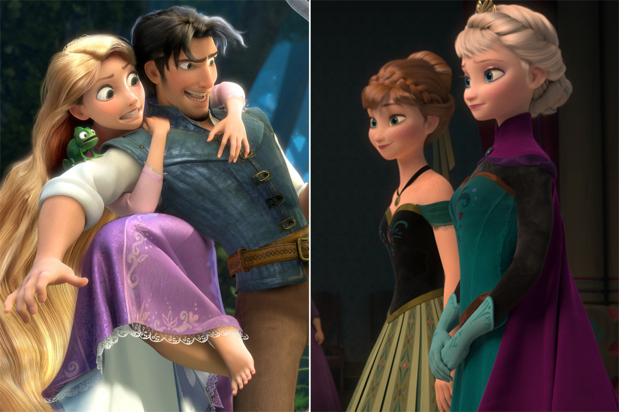 Tangled, Frozen