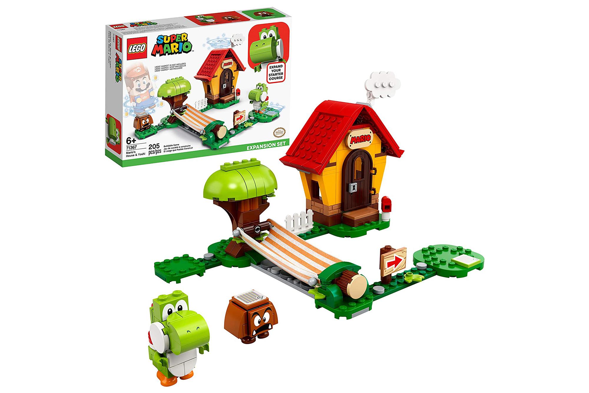 Super Mario Lego set