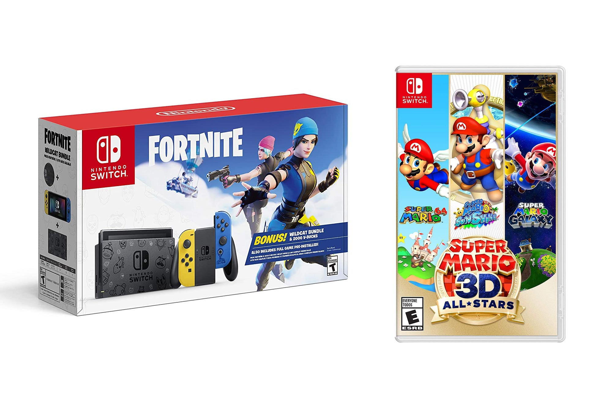 nintendo switch cyber week bundle