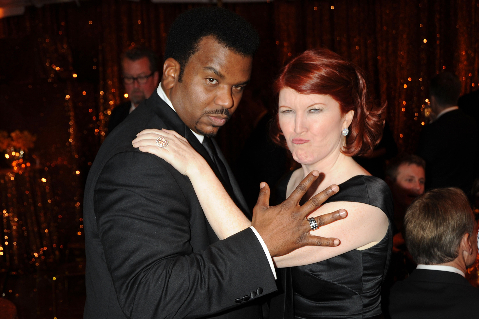Kate Flannery and Craig Robinson