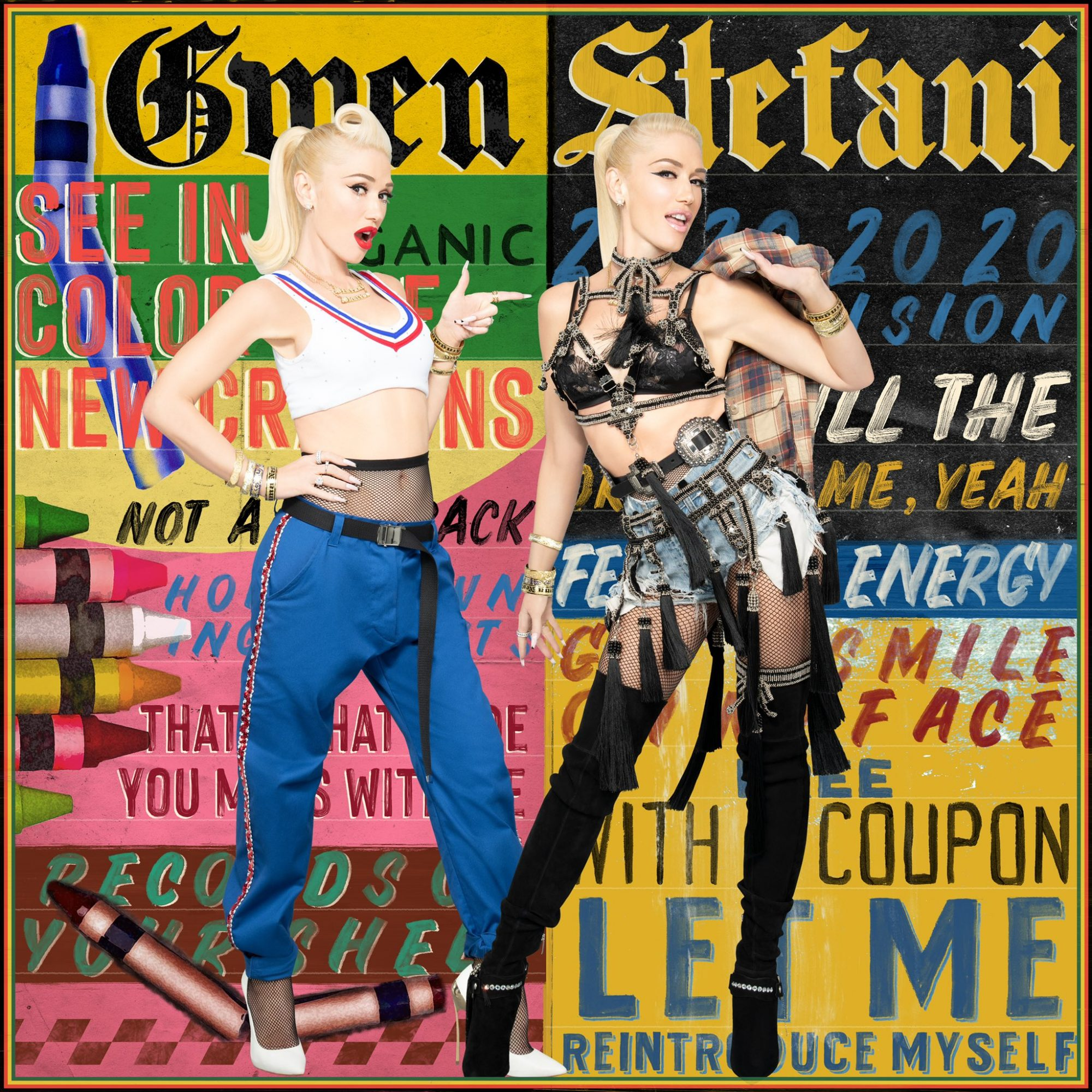 LET ME REINTRODUCE MYSELF by Gwen Stefani