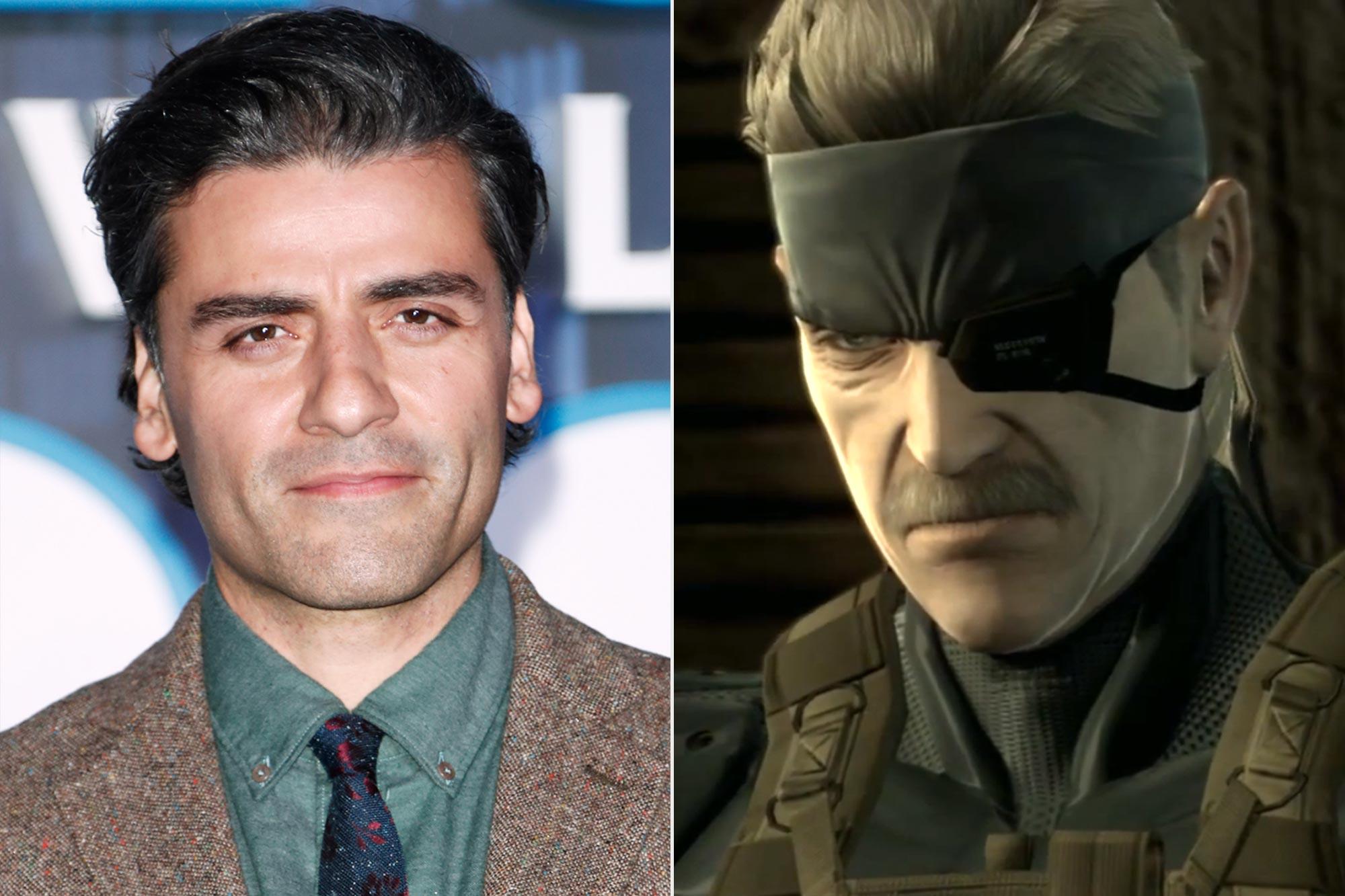 Oscar Isaac; Solid Snake