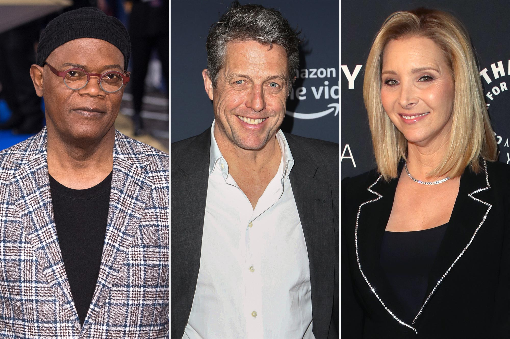Samuel L. Jackson, Hugh Grant, and Lisa Kudrow