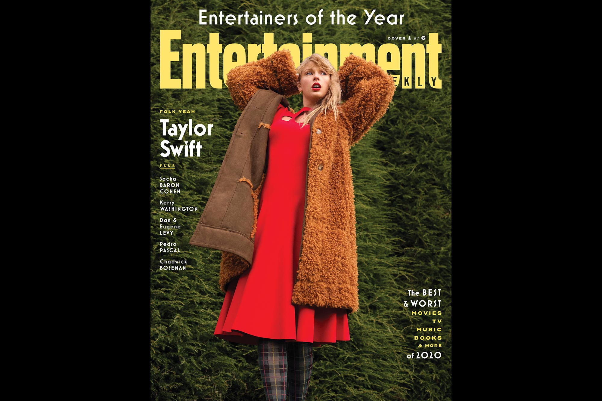 Entertainers of the Year 2020- Taylor Swift