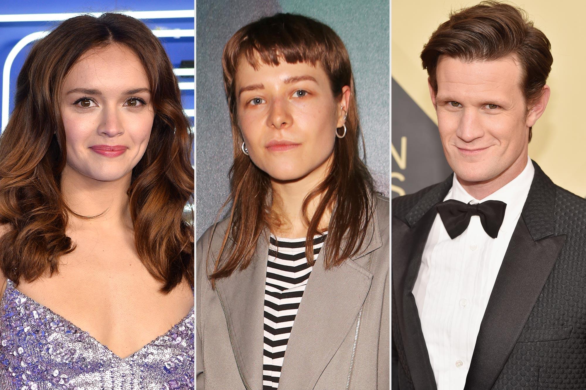 Olivia Cooke, Emma D'Arcy and Matt Smith