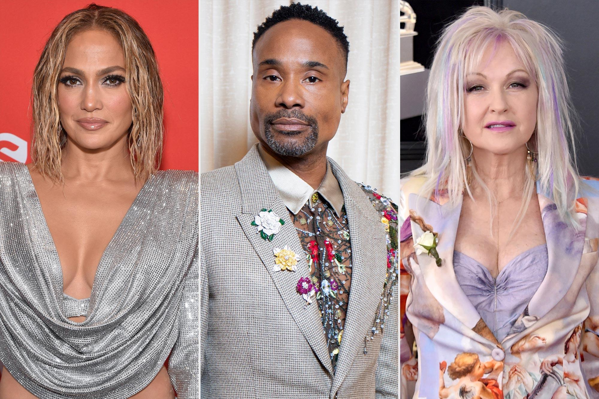 Jennifer Lopez, Billy Porter, Cyndi Laupe