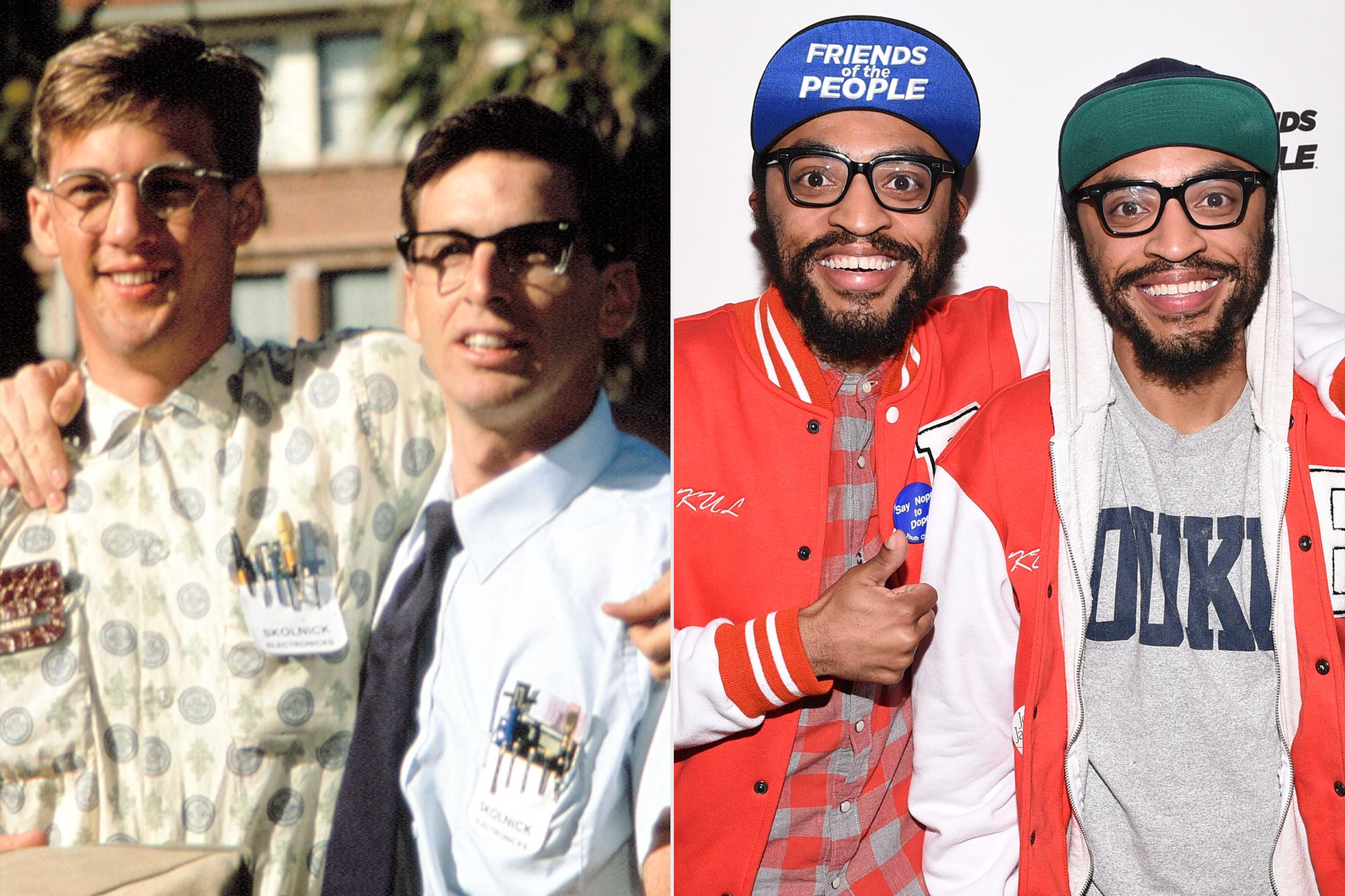 Revenge of the Nerds; Kenny Lucas and Keith Lucas