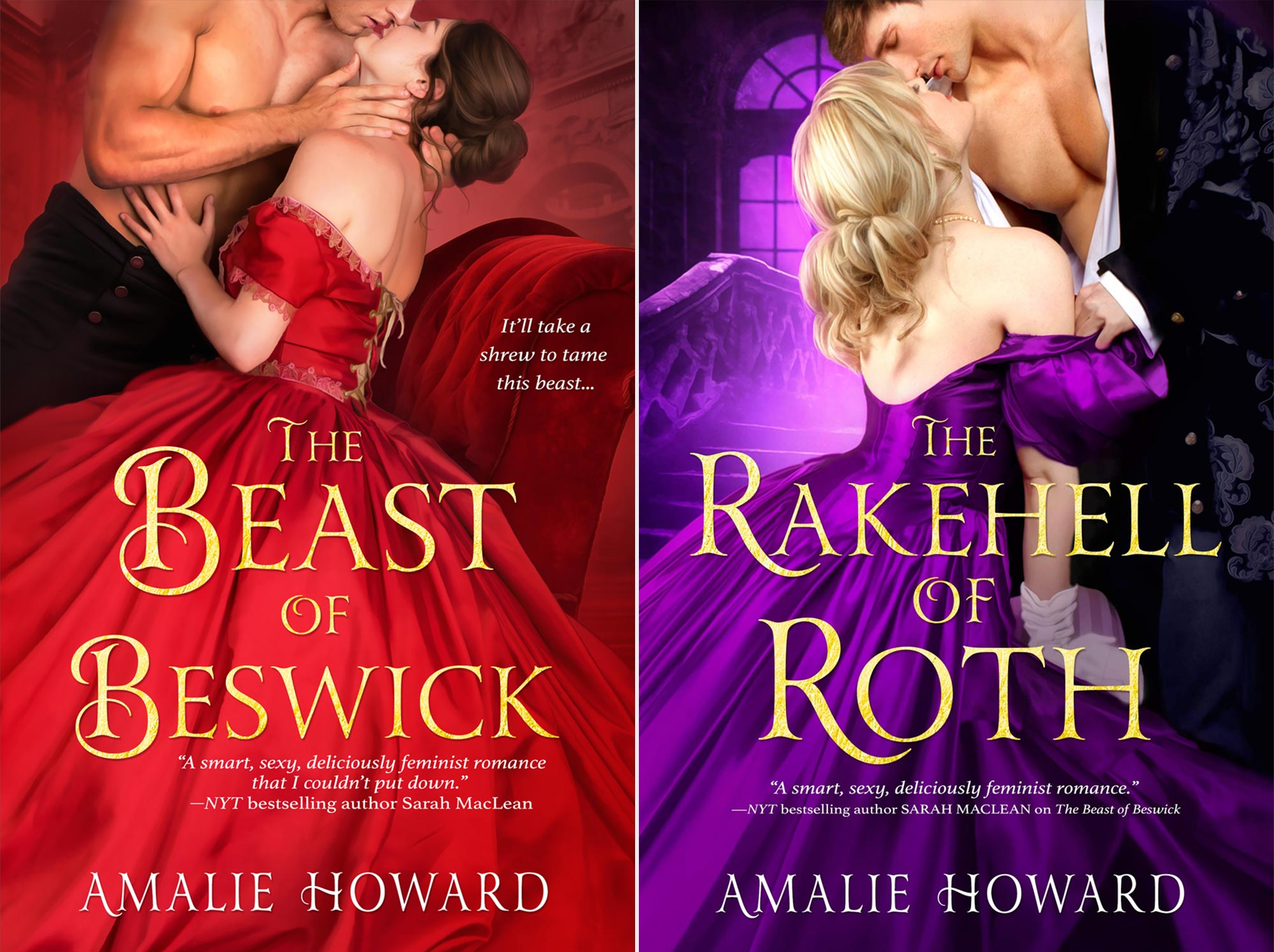 The Beast of Beswick and the Rakehell of Roth