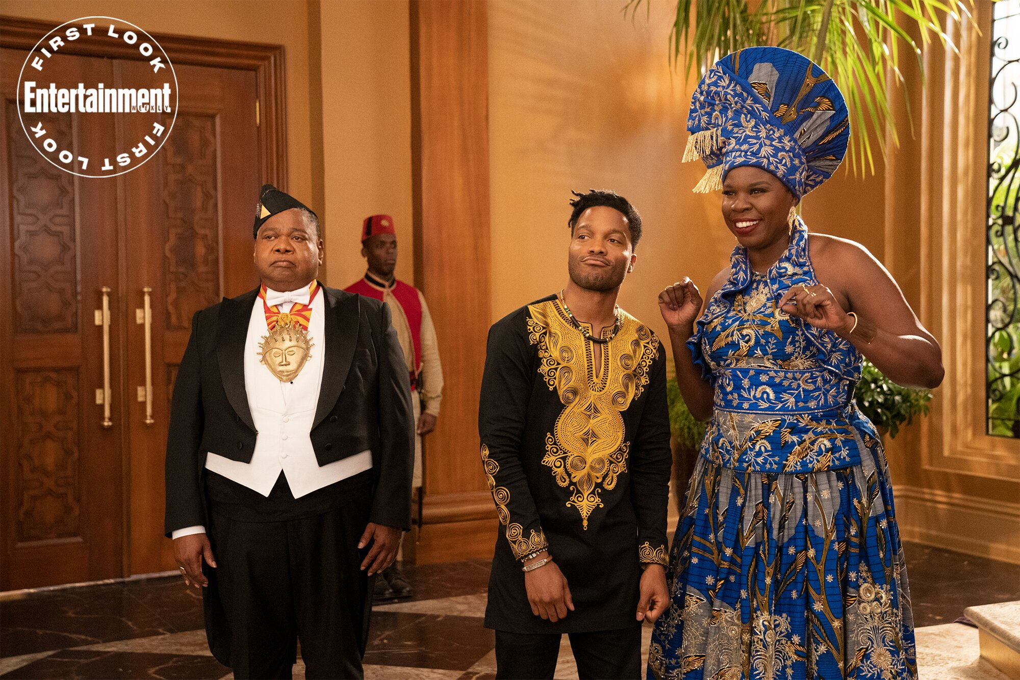 Coming 2 America: See Leslie Jones first look in Coming to America sequel | EW.com