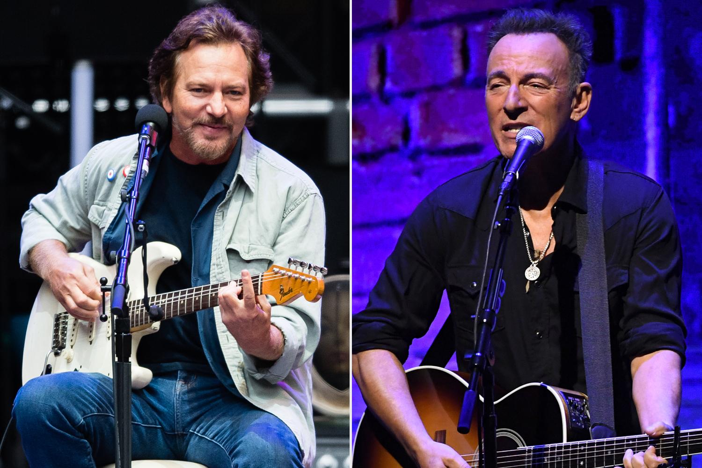 Eddie Vedder, Bruce Springsteen