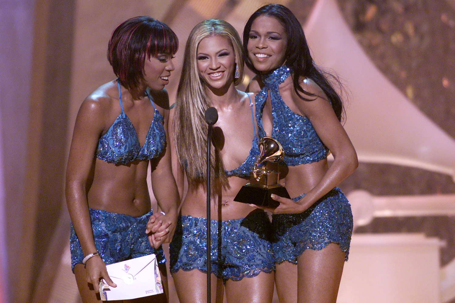 Destiny's Child at The 43rd Annual Grammy Awards