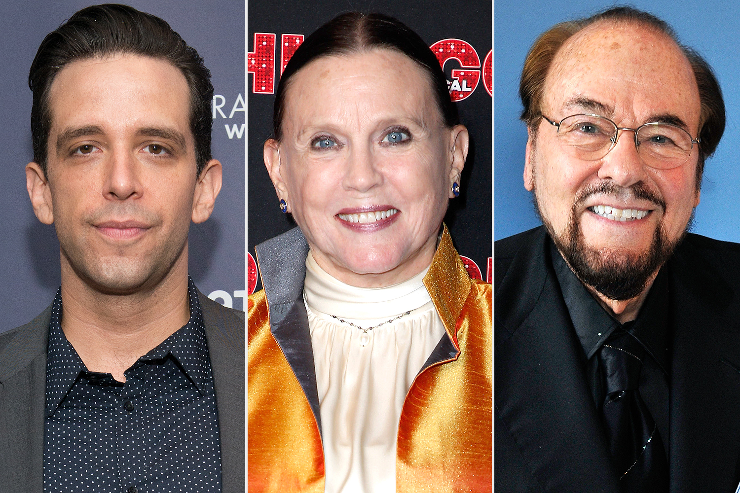 Nick Cordero, Ann Reinking, James Lipton