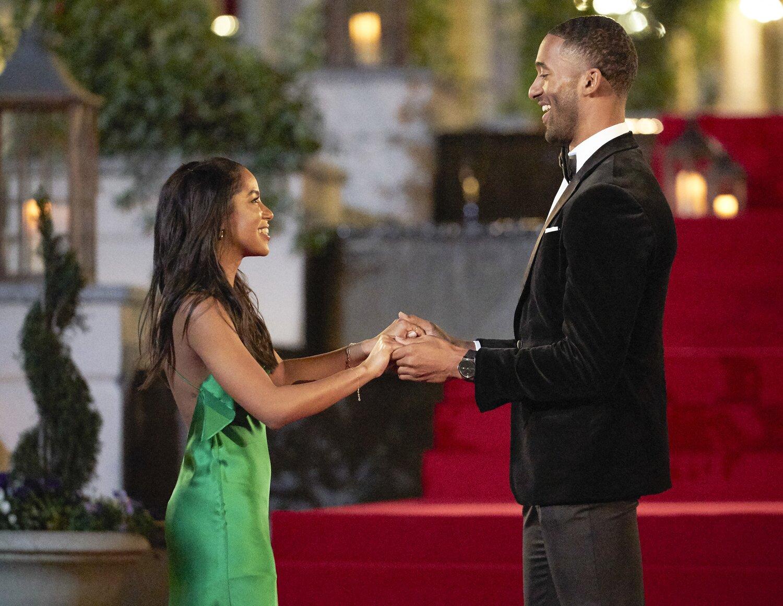 The Bachelor season 25 premiere recap: Matt has the 'ladies' buzzing   EW.com