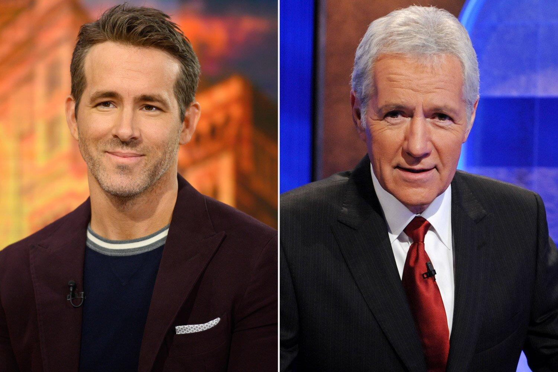 Ryan Reynolds says last time being on Jeopardy with Alex Trebek ...