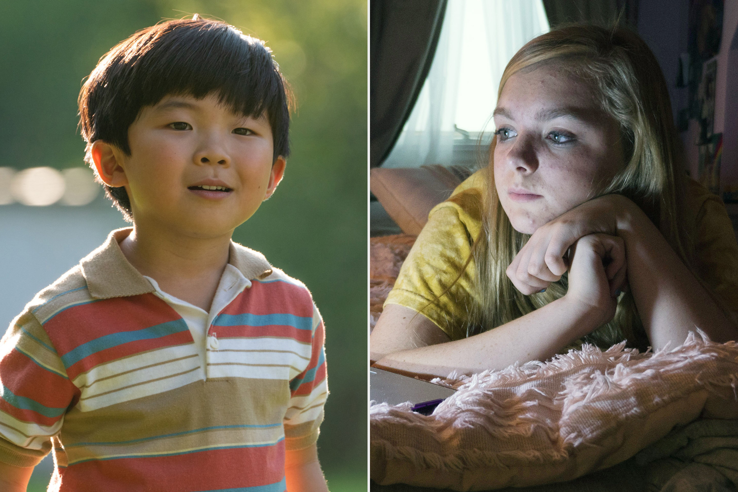 Alan Kim, Elsie Fisher