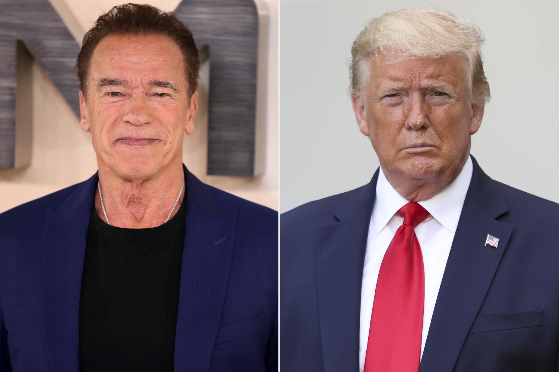 Arnold Schwarzenegger, Donald Trump