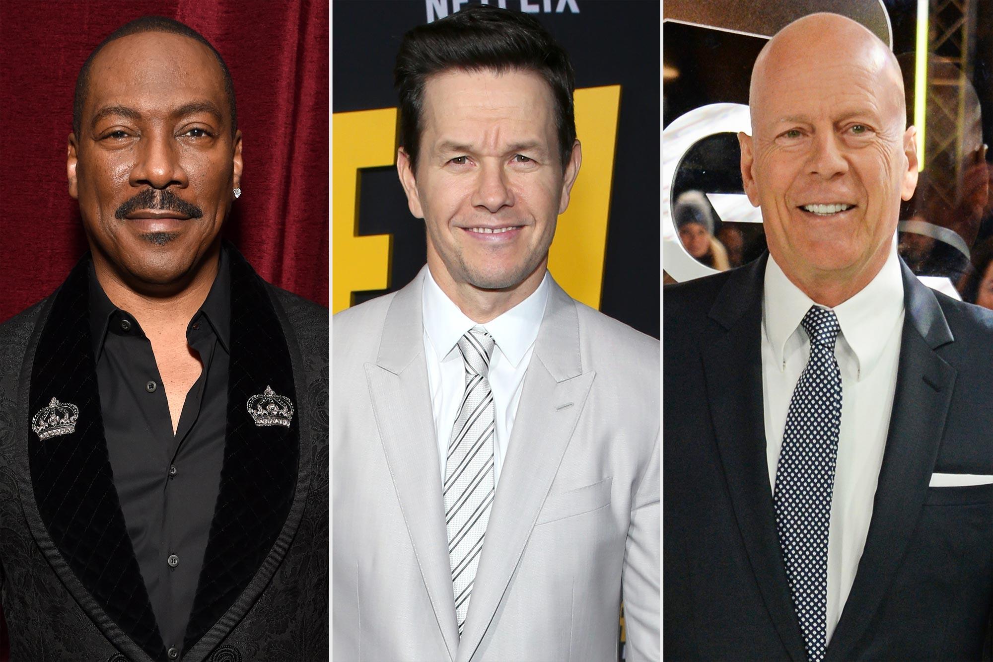 Eddie Murphy; Mark Wahlberg; Bruce Willis