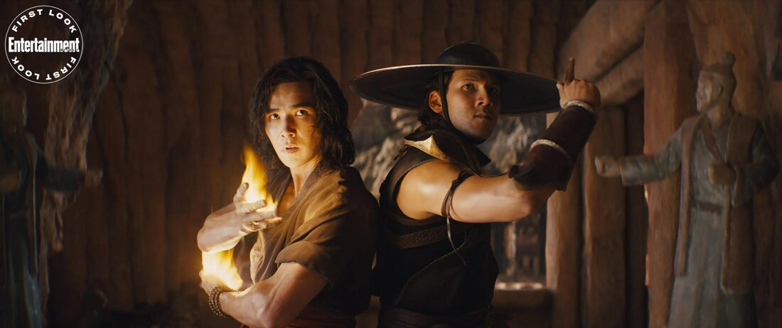 LUDI LIN as Liu Kang and MAX HUANG as Kung Lao