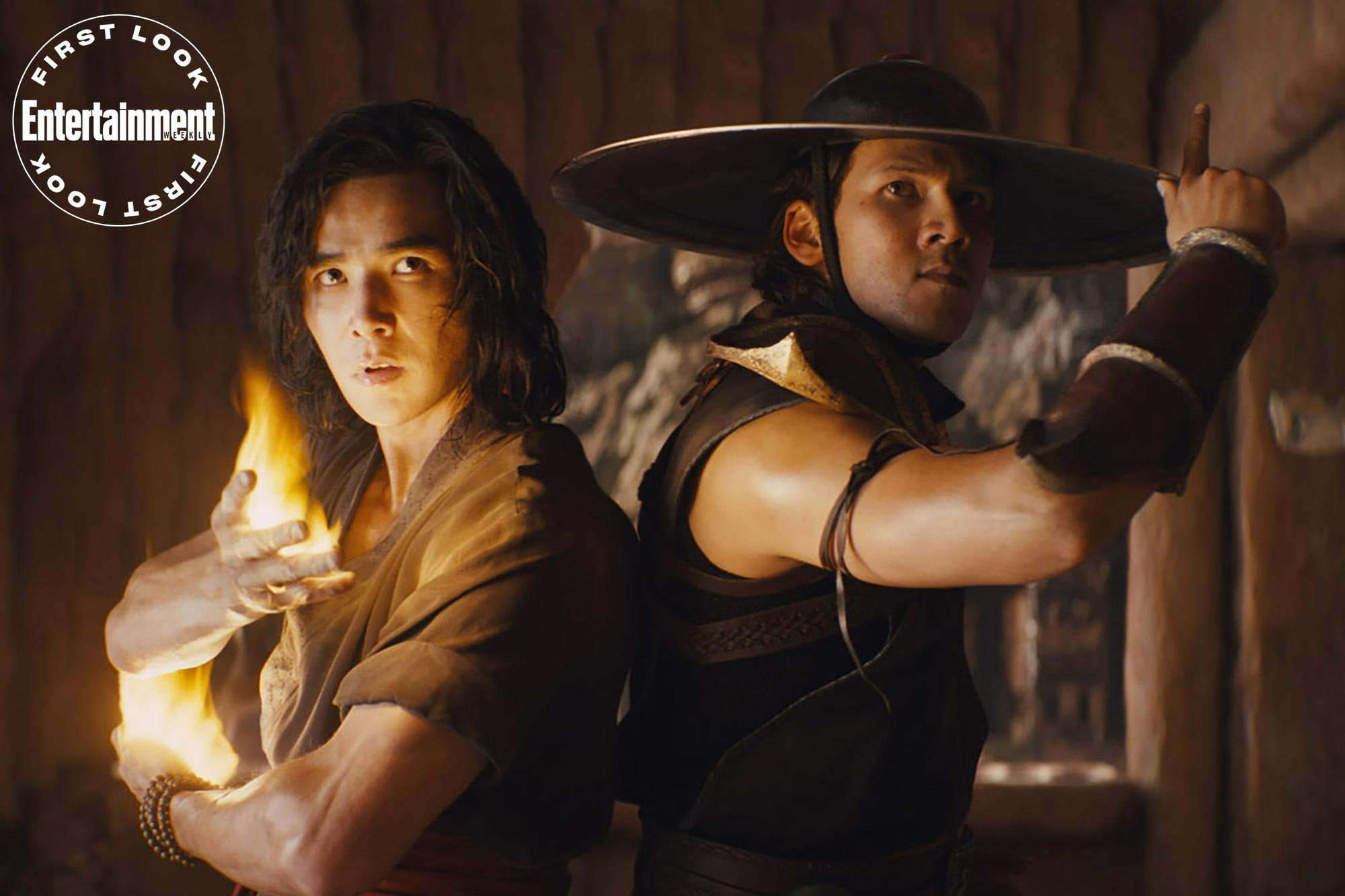Mortal Kombat- LUDI LIN as Liu Kang and MAX HUANG as Kung Lao