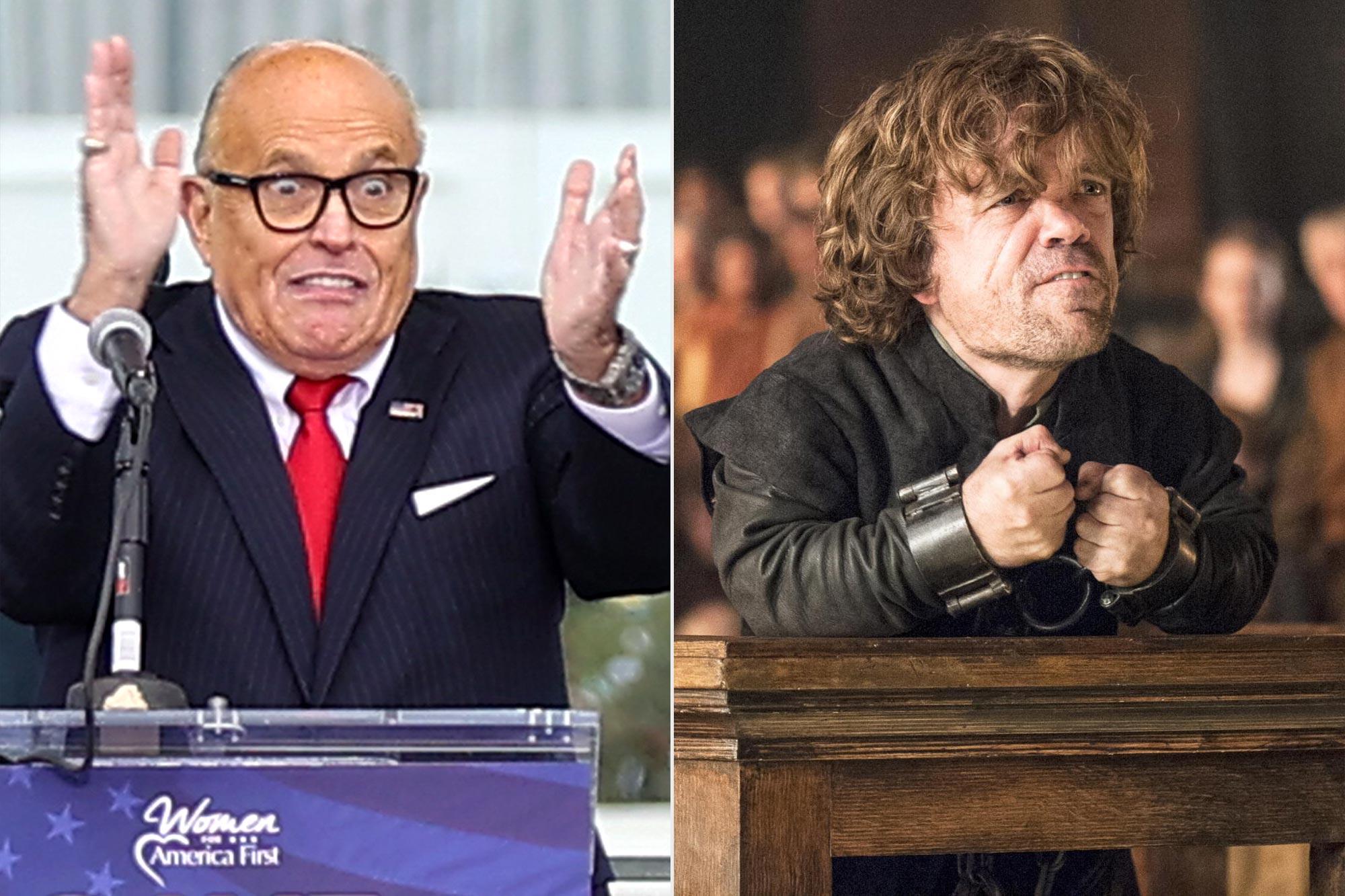 Rudy Giuliani; Game of Thrones