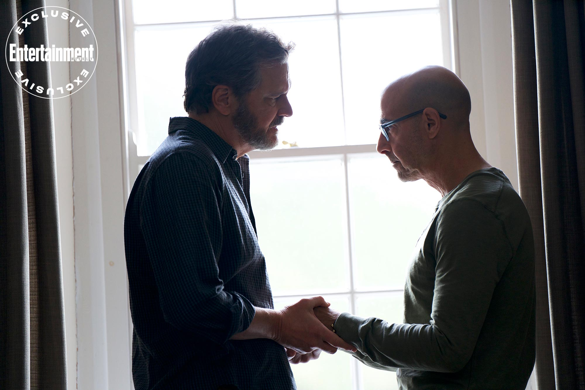 How Supernova's Stanley Tucci and Colin Firth fell in love