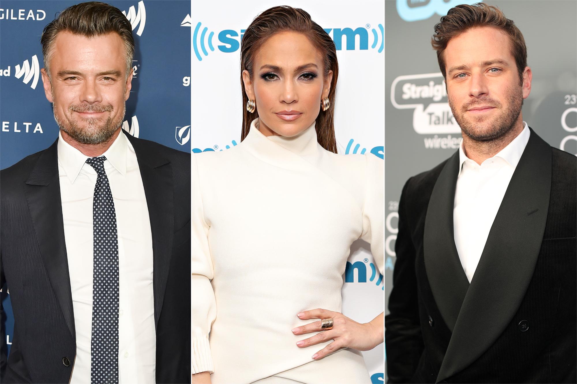 Josh Duhamel, Jennifer Lopez, Armie Hammer